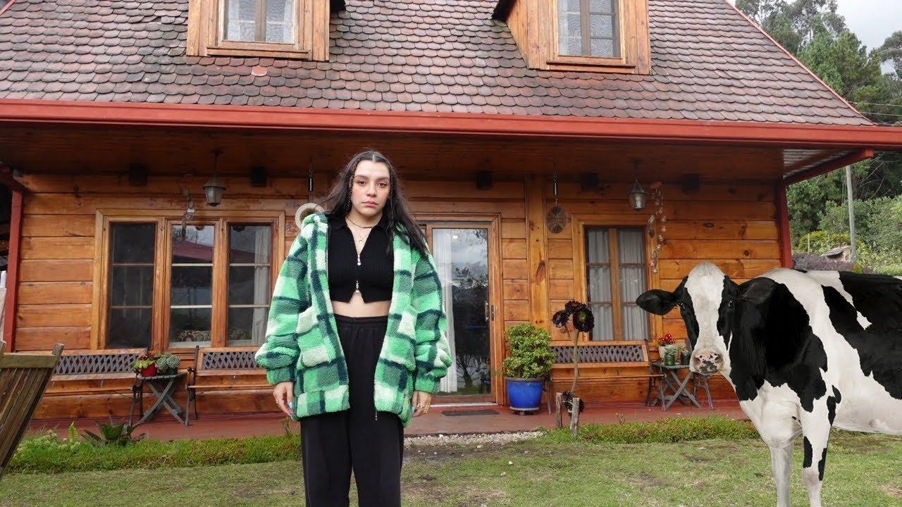 ME FUI A VIVIR A UNA CABAÑA EN MEDIO DE LA NADA l Sofia Castro