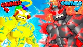 Download Roblox GOOD Owner vs EVIL Owner.. 😇😈