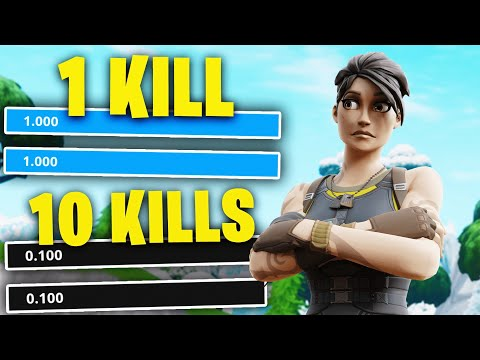 Every kill I LOWER my sensitivity in Fortnite...