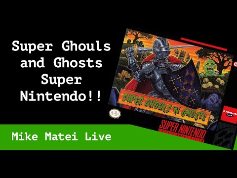 Super Ghouls 'n Ghosts (Super Nintendo) Mike Matei Live