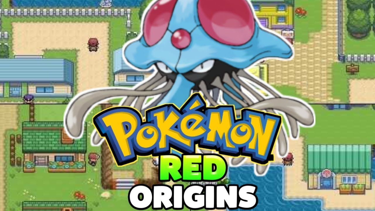 Pokemon Red Origins [Completed] - GBA Game With New Areas,New Moves,New  Pokemons!