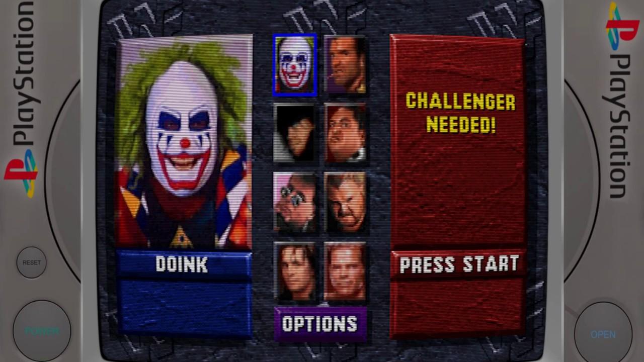 WWF Wrestlemania: The Arcade Game - PS1/PSX/PSOne - Retroarch 1080p
