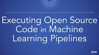 Executing Open Source Code in Machine Learning Pipelines
