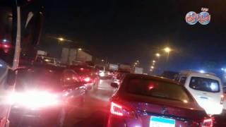 أخبار اليوم | شلل مروري بالدائري بسبب حادث