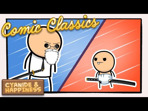 Samurai | Cyanide & Happiness Comic Animation