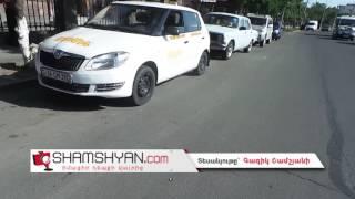 Ավտովթար Երևանում  ԵԿՄ շենքի դիմաց Opel ը բախվել է մայթեզրին, իսկ հետո՝ հարակից բետոնին