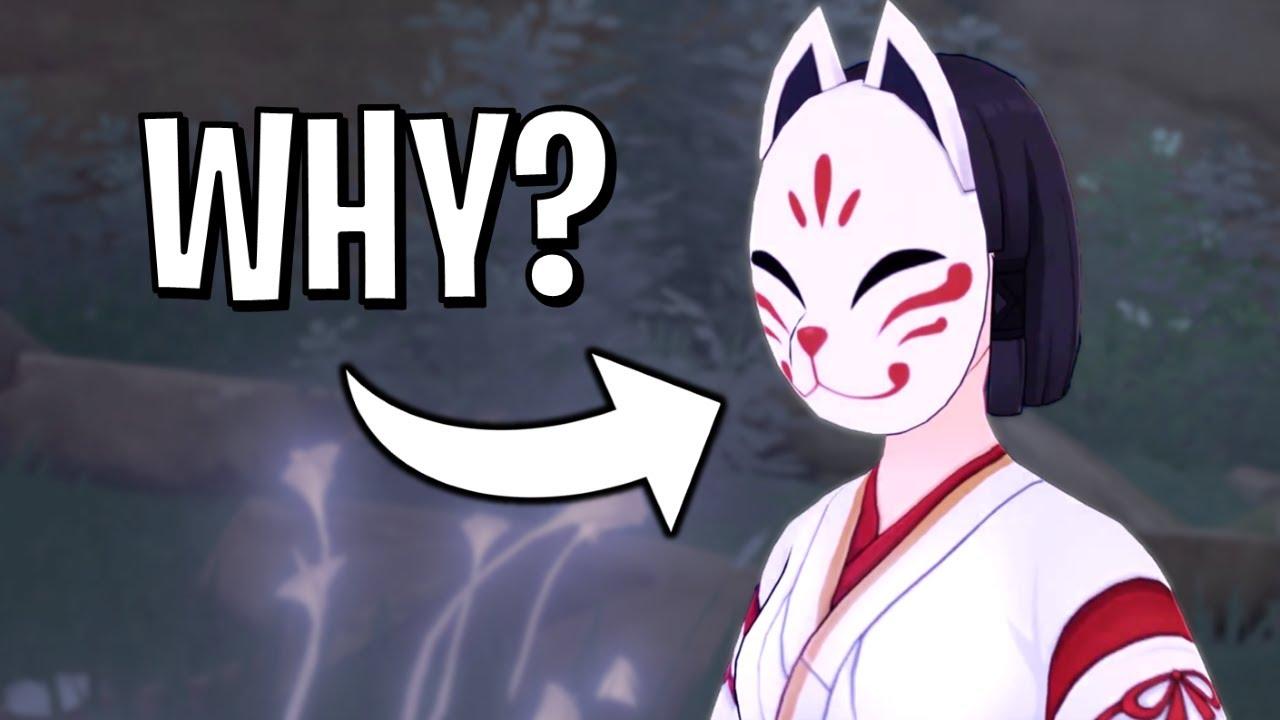 Genshin Impact: Why Kazari Wears a Mask
