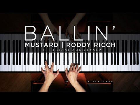 Mustard ft. Roddy Ricch - Ballin' | The Theorist Piano Cover