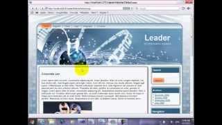 19- تجهيز الـ Master Page الخاصة بمدير الموقع وحمايتها