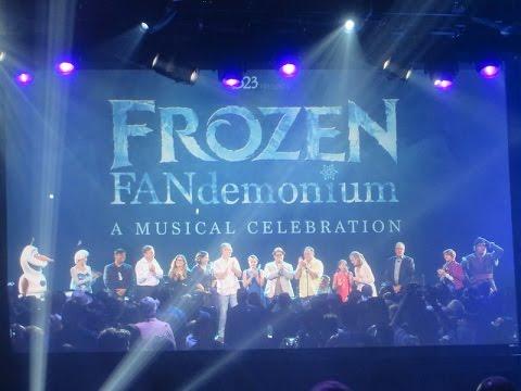 FROZEN FANdemonium - A Musical Celebration! at the #D23EXPO 2015