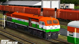 Independence Day Special Express Train    NFR    MSTS Open Rails Journey