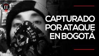 Ricardo Andrés Carvajal, capturado por el atentado en la Escuela General Santander | El Espectador
