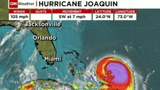 Hurricane Joaquin upgraded to Category 2
