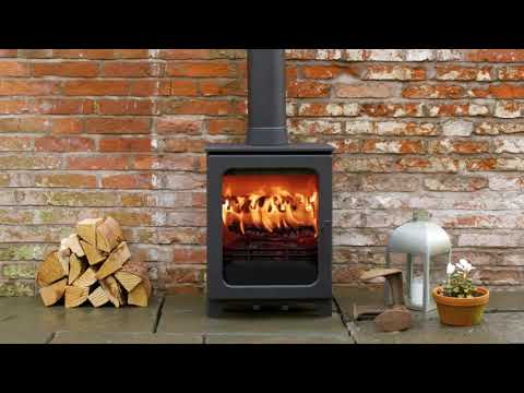 The Woodpecker WP5 Multifuel EcoDesign Ready Stove