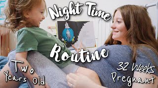 Pregnant Teen Mom Night Routine With A Toddler