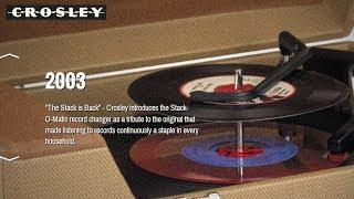 The last record changer ever made - Crosley Stack-O-Matic
