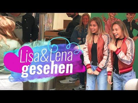 Lisa und Lena gesehen in Hamburg / Zahnarzt Termin / 10.4.17