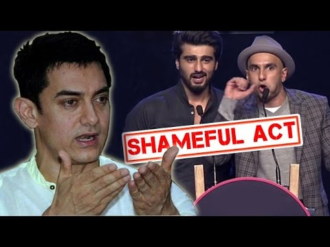 Aamir Khan Scolds Karan Johar And Arjun Kapoor For AIB Roast