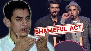 Aamir Khan Scolds Karan Johar And Arjun Kapoor For AIB Roast