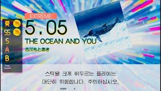 Gitadora THE OCEAN AND YOU Extreme drum