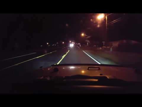 SUNPIE LED Half Halo Headlights at Night