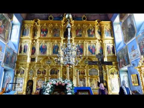 Годеново.Животворящий Крест, храм святителя Иоанна Златоуста. Золотое кольцо России.