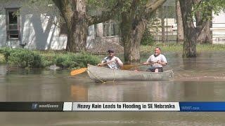 Blue River Floods Leave a Mess of Southern Nebraskans