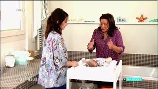 Comment bien nettoyer le visage de bébé - La Maison des Maternelles
