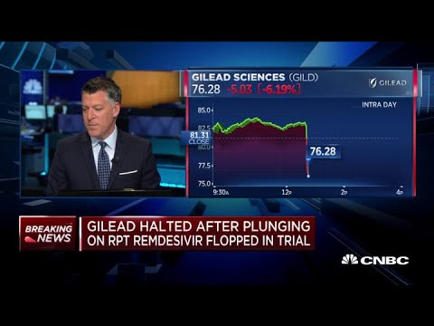 Gilead says early results of coronavirus drug trial show improvement ...