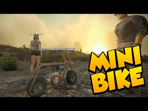 MINIBIKE ALMOST COMPLETE! - 7 Days to Die Alpha 16 Multiplay