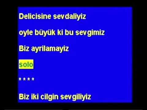 BİZ AYRILAMAYIZ -BÜLENT ERSOY karaoke