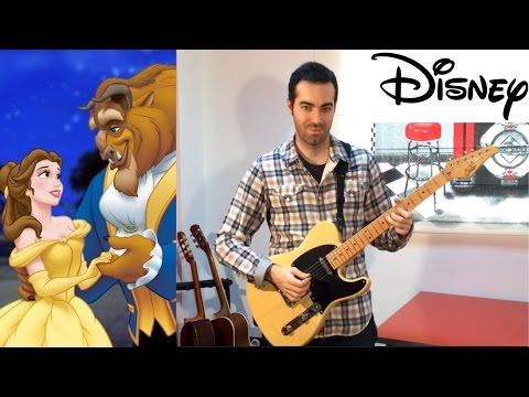 Beauty and the Beast guitar instrumental (Tale as old as time)