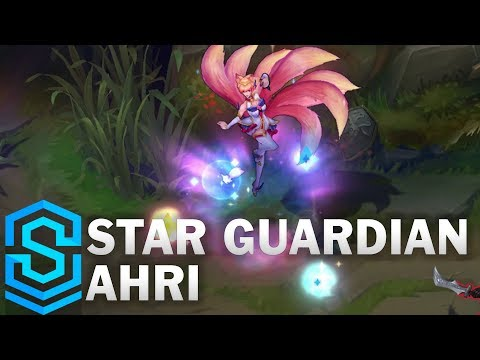 Star Guardian Ahri Skin Spotlight - Pre-Release - League of Legends