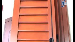 Деревянные окна со ставнями Модерн™