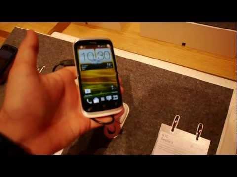 HTC Desire X Smartphone im Hands On