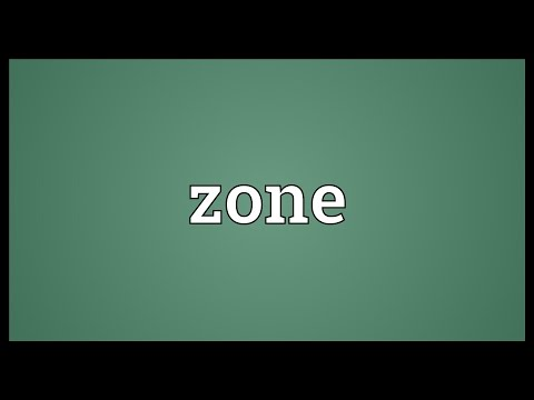 Zone Meaning