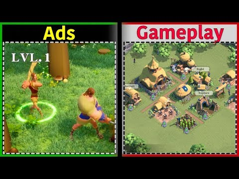 Rise of Kingdoms | Is it like the Ads? | Gameplay