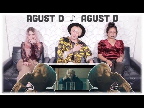 Agust D 'Agust D' MV Reaction! MIN YOOOONGIIIIIIIIIII