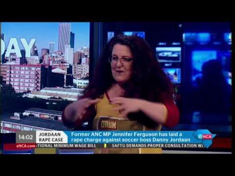 Jennifer Ferguson opens rape case against Danny Jordaan