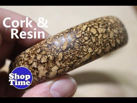 Cork & Resin Bracelet   Dip It #22