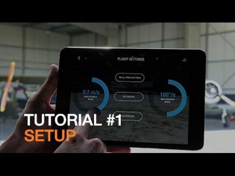Parrot Bebop Drone - Tutorial #1 - Setup