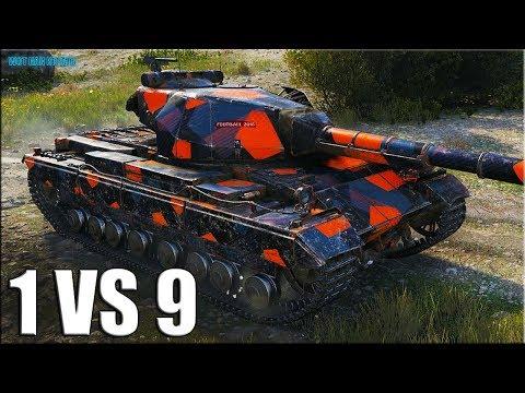 Супер Конь против ДЕВЯТЕРЫХ ✅ World of Tanks лучший бой Super Conqueror