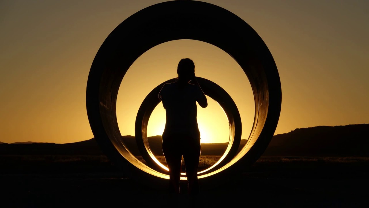 Nancy holt sun tunnels timelapse youtube for What is a sun tunnel