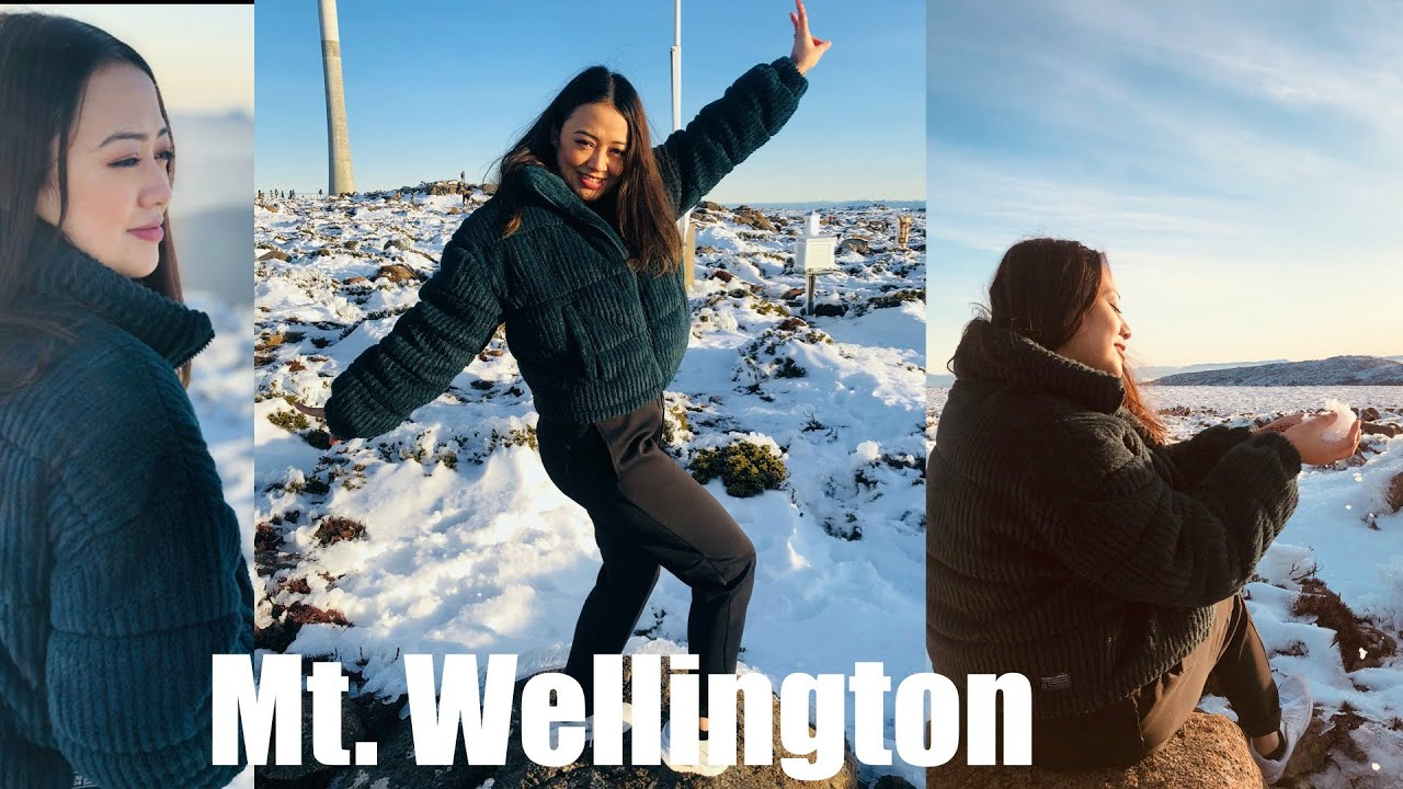 My first experience in snow - Mt Wellington, Hobart
