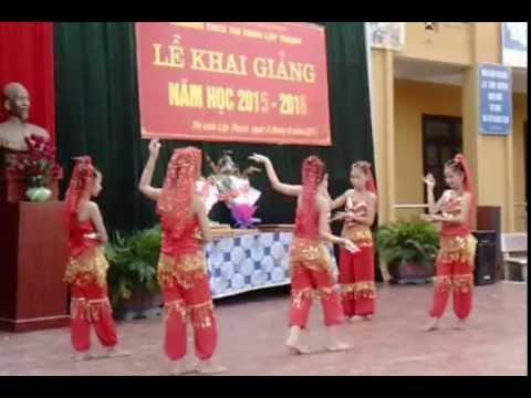 Múa Ấn Độ - Trường THCS thị trấn Lập Thạch (Tốp múa 7B)