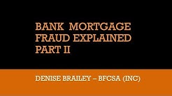 Bombshell II! Denise Brailey blows apart the mortgage fraud cover-up that threatens all Australians