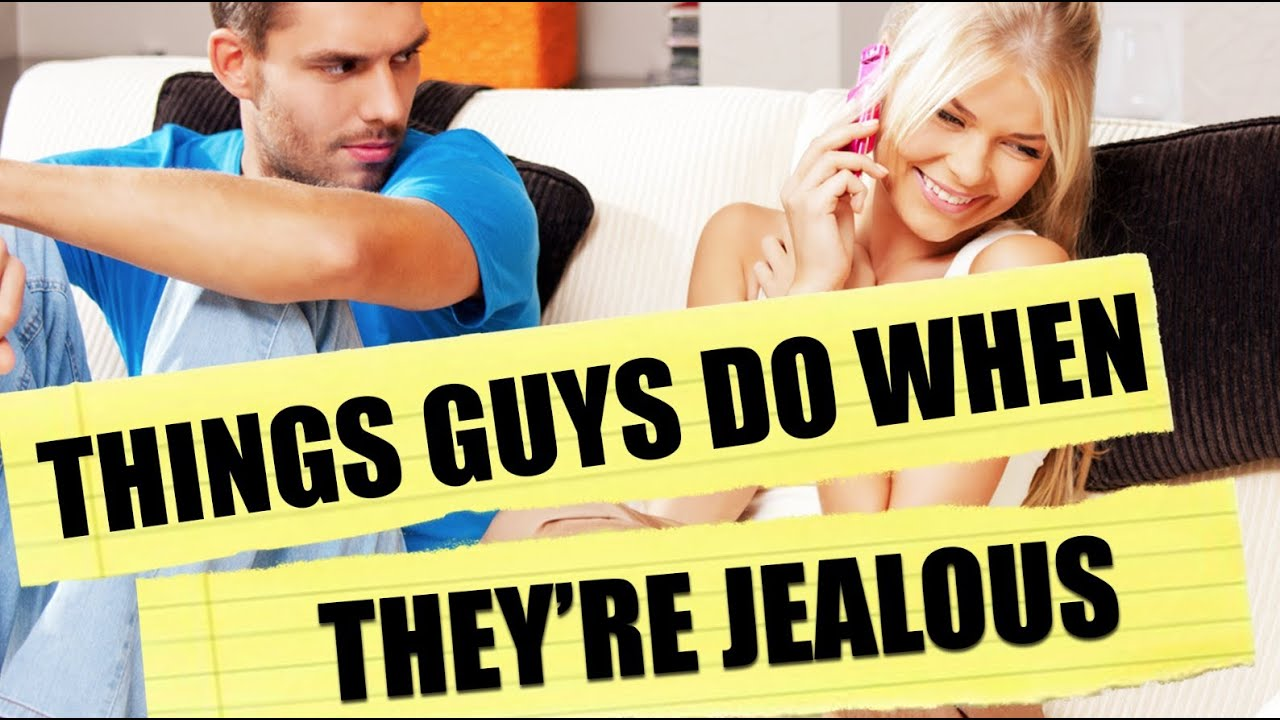 How To Spot A Jealous Man