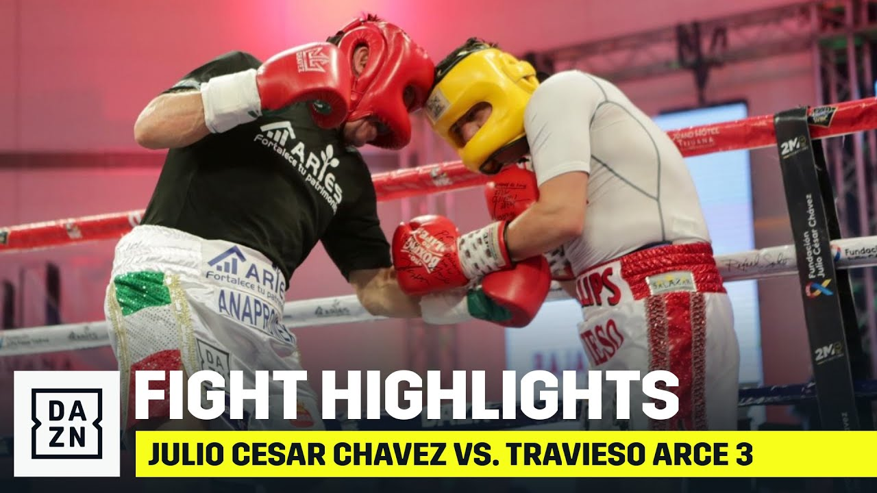 HIGHLIGHTS | Julio Cesar Chavez vs. Travieso Arce 3