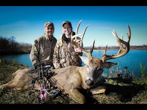 "The Hunt for ""Kick-It-In"" ILLINOIS 196"" Whitetail Bow-hunt (Part 2 of 2)"