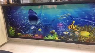 Gambar cover Impresion de acuario en 3 d paisajes o murales x metro TAPIFORROS 7 DEAGOSTO CEL 3112721270 Whatsap